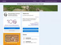 kirche.dk Webseite Vorschau