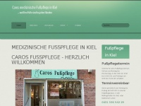 kiel-fusspflege.de Webseite Vorschau