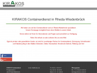 kirakos.de Webseite Vorschau
