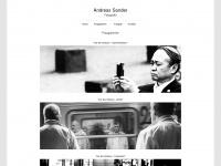 photo-sander.de Webseite Vorschau