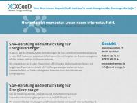 xceed-energy.de Webseite Vorschau