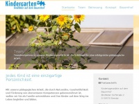 kindergarten-stendal.de Webseite Vorschau
