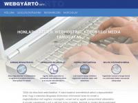 webgyarto.hu Webseite Vorschau
