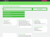 pharma-berufe.ch Webseite Vorschau