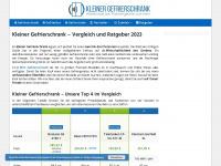 Kleiner-gefrierschrank.net