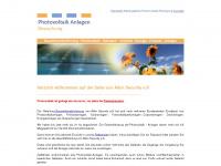 photovoltaik-bewachung.de Webseite Vorschau
