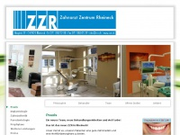 zzr.ch Webseite Vorschau
