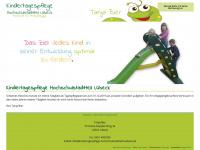 kindertagespflege-hochschulstadtteil-luebeck.de Webseite Vorschau