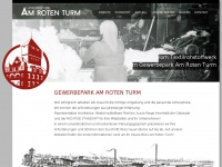 amrotenturm.de Webseite Vorschau