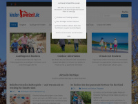 kinder-spielzeit.de Webseite Vorschau