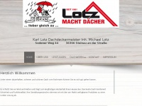 lotz-dach.de Webseite Vorschau