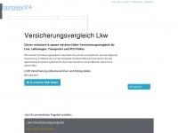 versicherungsvergleich-lkw.de Webseite Vorschau