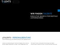 4-talents.de Webseite Vorschau