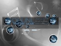 deunl-radio.de Webseite Vorschau
