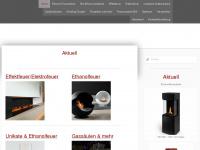 loungefire.ch Webseite Vorschau