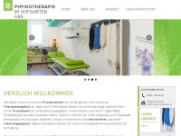 physiotherapie-hofgarten.de Webseite Vorschau