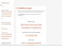 zollabkuerzungen.de Webseite Vorschau