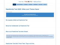 haarbuerste-test.com Webseite Vorschau