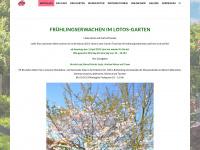 lotos-garten.de Webseite Vorschau