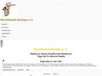Musikkapelle-betzigau.de