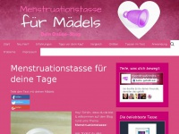 menstruationstasse-maedels.de