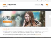 xtc-shop.de Webseite Vorschau