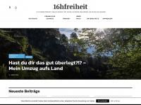 16hfreiheit.de Webseite Vorschau