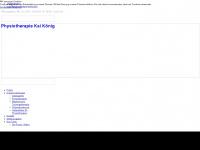 physiotherapie-koenig.eu Webseite Vorschau
