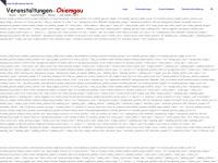 veranstaltungen-chiemgau.de Webseite Vorschau
