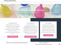 menstruationstasse.com Webseite Vorschau