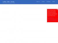 lothar-kahn-schule.de Webseite Vorschau