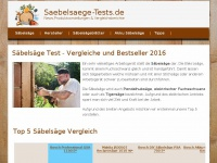 Saebelsaege-tests.de