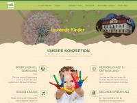 kinderhaus-pusteblume.com Webseite Vorschau