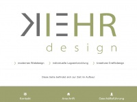 kiehr-design.de Webseite Vorschau
