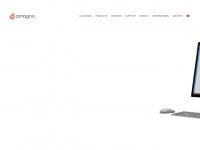 amagno.ch Webseite Vorschau