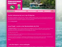 philippinen-projekt.de Webseite Vorschau