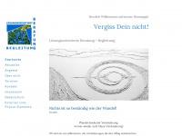 vergissdeinnicht-monika-beck.de Webseite Vorschau