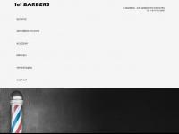1o1barbers.com Webseite Vorschau