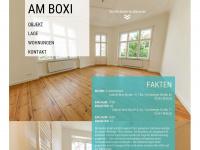 am-boxi.de Webseite Vorschau
