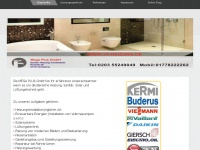 1a-heizung.de Webseite Vorschau
