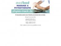 physio-mack.de Webseite Vorschau