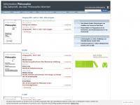 information-philosophie.de Webseite Vorschau