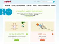 kindermuseum.at Webseite Vorschau