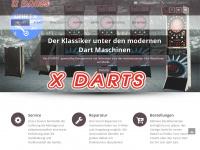 xdarts.at Webseite Vorschau