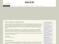 zur-post-buchloe.de Webseite Vorschau