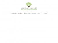 amazingnature.de Webseite Vorschau