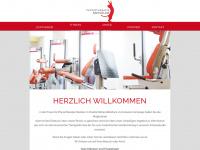 physiotherapie-menzler.de Webseite Vorschau