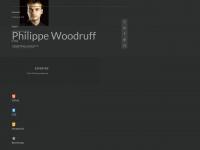 philippe-woodruff.de Webseite Vorschau