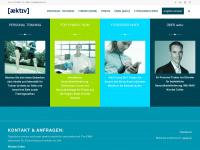 aektiv.ch Webseite Vorschau