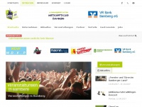 100prozentbamberg.de Webseite Vorschau